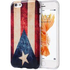DW Graphic IMD TPU iPhone 6/6S Plus Case - Vintage Flag (Puerto Rico)