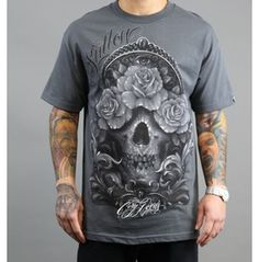 Sullen Cory Norris Tee GRY