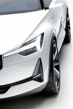 Check this out on leManoosh.com: #Aerodynamic #Car #Grid #Light #Transport #Vent #Volvo #White