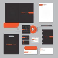 Station re Vorlage Design Corporate Identity Unternehmen eingestellt  Lizenzfreie Bilder