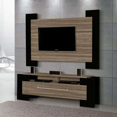 Lcd Unit Design, Tv Unit Interior Design, Lcd Panel Design, Tv Unit Furniture Design, Wall Unit Designs, Tv Stand Designs, Living Room Tv Unit Designs, Tv Wall Design, Tv Unit Decor