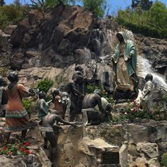 Aparición de la Virgen de Guadalupe a San Juan Diego, Basílica de Guadalupe, Cd. De México