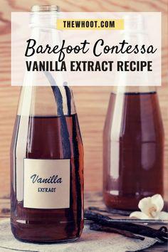 Vanilla Extract Recipe, Vanilla Recipes, Vanilla Flavoring, Vanilla Beans, Friendship Bread Recipe, Easy Homemade Recipes, Homemade Products, Healthy Recipes, Flavored Oils