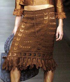 My Favorite Things ...: Crochet skirt a-la Sitka Semsch