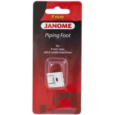Janome Piping Foot for 9mm Machines - Sew Vac Direct
