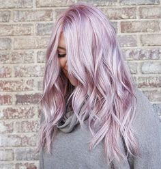 Purple Violet Red Cherry Pink Bright Hair Colour Color Coloured Colored Fire Style curls haircut lilac lavender short long mermaid blue green teal orange hippy boho Pulp Riot