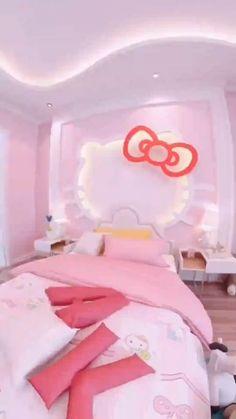 Bedroom False Ceiling Design, Room Design Bedroom, Girl Bedroom Designs, Home Room Design, Diy Bedroom Decor, Bed For Girls Room, Cool Kids Bedrooms, Little Girl Rooms, Girls Bedroom