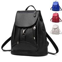 Buy Women's Backpack Fashion Pu Leather Leisure Shoulder Bags at Wish - Shopping Made Fun Latest Fashion Design, Fabric Textures, Wish Shopping, Pu Leather, Fashion Backpack, Backpacks, Beige, Shoulder Bag, Stuff To Buy