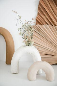 Diy Clay, Clay Crafts, Diy With Clay, Diy Air Dry Clay, Keramik Design, Clay Vase, Clay Projects, Ceramic Pottery, Ceramic Art