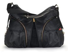 Skip Hop Versa Expandable Diaper Bag Black *** Want additional info? Click on the image.-It is an affiliate link to Amazon. #DiaperBags