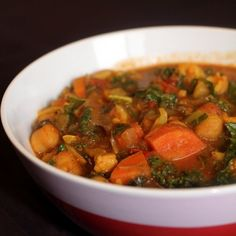 Vegetable Chickpea Curry #vegan