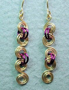 Double Spiral Wire Tutorial