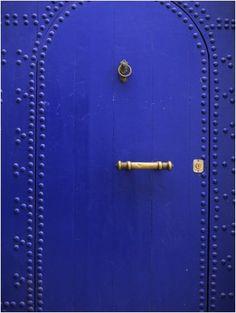 Door in the Medina, Essaouira, Morocco, North Africa, Africa. Bruno Morandi ~ Photographer.