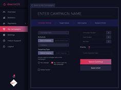 DirectAds Website on Web Design Served
