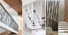 11 Inspirasi railing tangga yang unik untuk interior rumah atau kantor anda