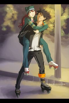 Air Gear Ikki & Ringo