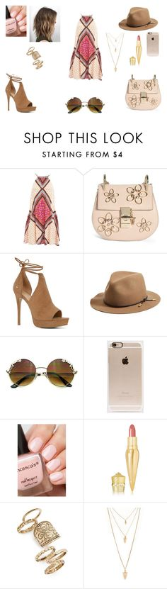 """Summer soon"" by irishchick11 ❤ liked on Polyvore featuring MINKPINK, Chloé, ALDO, rag & bone, Incase, Christian Louboutin, Topshop and Forever 21"