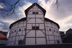 The Globe theatre, would love to go on a tour around this and even better would be to see a play here.