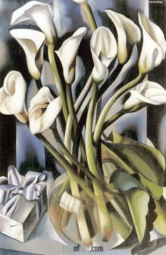 Arums,c.1931 | Lempicka | Private Collection