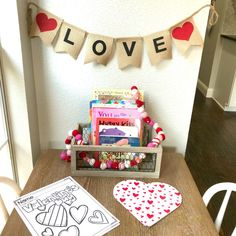 Valentine Books for