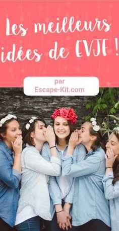 Les meilleurs idées pour un enterrement vie de jeune fille ! #EVJF #mariage #enterrementviedejeunefille #idées #femme #mariée Diy Games, Marie, Bridal Shower, Wedding Day, Bridesmaid, Miu Miu, Fun, Movie Posters, Bracelet