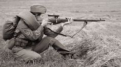 WW2 russian female snipers
