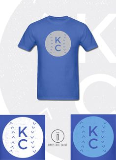 Local Kansas City Royals KC Baseball T Shirt by DimestoreSaintDesign