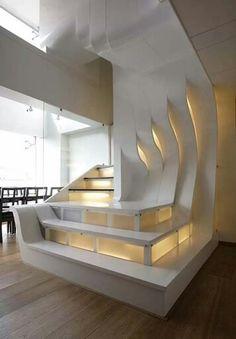 SHAN|LIVE stair