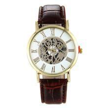 Load image into Gallery viewer, Fashion New LuxuryMen Hollow Quartz Watch Military Watch Relogio Male Montre Watch Men Relojes Dial Analog Rome Wristwatch