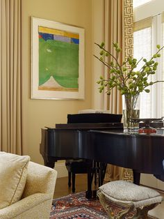 Baby Grand Piano In Corner Design, Pictures, Remodel, Decor and Ideas - page 21