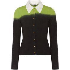 LOVE MOSCHINO Striped cotton cardigan. #lovemoschino #cloth ...
