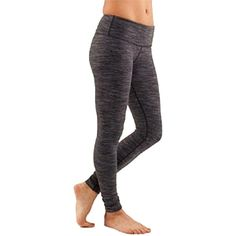 Pre-owned Lululemon Nwt New Wunder Under Pants Space Dye Wee Are From... ($115) ❤ liked on Polyvore featuring activewear, activewear pants, none and lululemon