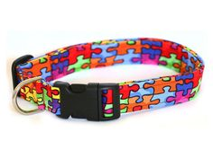 XLarge Dog Collar  Jigsaw Puzzle by Pugs2Persians on Etsy, $13.00