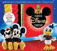 Disney Classic Crochet Kit and Amigurumi Pattern Book