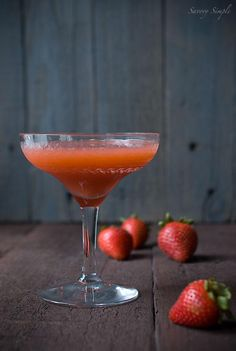 How to Strawberry Basil Mint Summer Cocktail