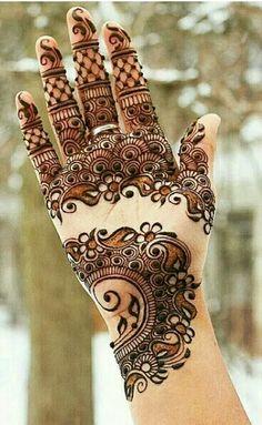 Eid Mehndi-Henna Designs for Girls.Beautiful Mehndi designs for Eid & festivals. Collection of creative & unique mehndi-henna designs for girls this Eid Easy Mehndi Designs, Henna Hand Designs, Mehndi Designs Finger, Pakistani Mehndi Designs, Latest Bridal Mehndi Designs, Mehndi Designs 2018, Mehndi Designs For Beginners, Mehndi Designs For Girls, Mehandi Designs Arabic