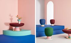 Masquespacio unveils Missana collaboration Take a pew: Masquespacio unveils debut furniture collection for Missana   Wallpaper* Magazine