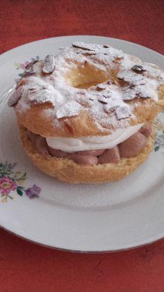 This no all / Disznóól - KonyhaMalacka disznóságai: mini Paris-Brest Paris Brest, Cobbler, Breakfast, Mini, Food, Morning Coffee, Essen, Meals, Yemek