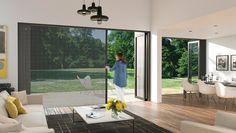 Centror Integrated doors - Inside-outside living