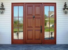 Custom Door with Sidelites