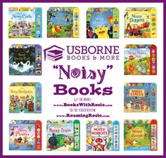 Noisy Books from Usborne Books & More (Review by Roaming Rosie) Sound Books for Kids