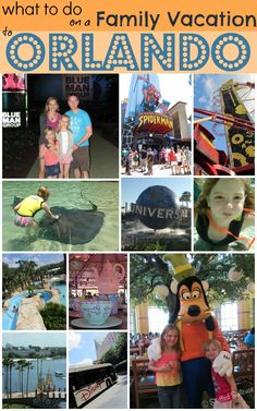 What to do on a Family Vacation to Orlando - our attractions and activities StuffedSuitcase.com travel