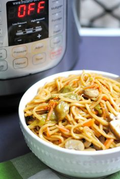 Easy Instant Pot Lo Mein