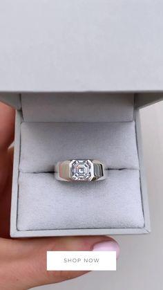 Unique Diamond Rings, Mens Diamond Jewelry, Unique Mens Rings, Platinum Diamond Rings, Mens Wedding Rings Platinum, Mens Silver Rings, Mens Ring Designs, Gold Ring Designs, Couple Ring Design