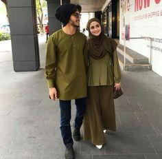 Ootd Hijab, Hijab Outfit, Hijab Fashion, Fashion Outfits, Womens Fashion, Army Look, Muslim, Casual, Model
