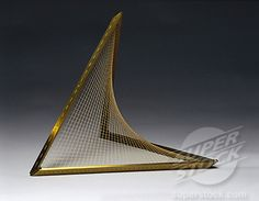 Hyperboloid of one sheet, string surface model, 1872. - See more at: http://www.superstock.com/stock-photos-images/1895-16505#sthash.By3MOhVL.dpuf