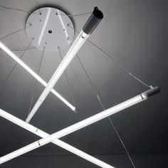 hanging fluorescent light - Google Search