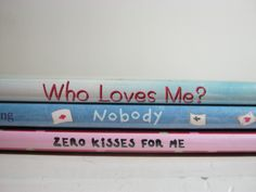 BOOK SPINE POETRY Who Loves Me? #bookspinepoetry