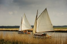 Norfolk Broads traditional yachts by Simon Fitzhugh on 500px