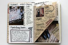 BE.PROMPTED - AUGUST 2014 JOURNALING SPREAD | Flickr - Photo Sharing!